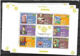 Sao Tome' E Principe 2005, Europa Cept 8 Miniat.sh. Mint **mnh (Ref 3088) - Sao Tome And Principe