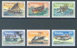 TOKELAU - MNH/** - 1983  - MARINE TRANSPORT - Yv 91-96 -  Lot 23438 - Tokelau