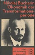 """Ökonomik Der Transformationsperiode - Texte Des Sozialismus Und Anarchismus - """"Klassiker Rororo"""" - Bucharin Nikolaj - 19 - Other"""