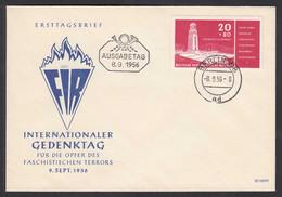 DDR FDC Nationale Gedenkstätte Mi.538 Stempel 8.9.1956     (26223 - Sin Clasificación