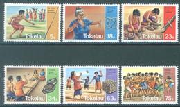 TOKELAU - MNH/** - 1983  - VARIOUS GAMES - Yv 97-102 -  Lot 23439 - Tokelau