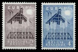 BELGIEN 1957 Nr 1070-1071 Postfrisch X97D506 - Ungebraucht