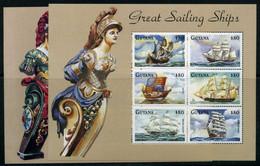 Guyana KB MiNr. 6212-23 Postfrisch MNH Schiffe (P838 - Guyana (1966-...)