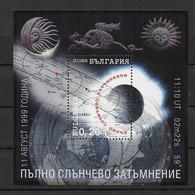 Bulgarien 1999 Raumfahrt Block 240 ** - Ongebruikt