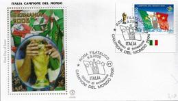 Fdc Filagrano Gold 2006: ITALIA CAMPIONE DEL MONDO ; No Viaggiata; AS - F.D.C.