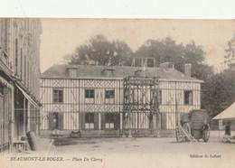 BEAUMONT Le ROGER  Place De Clercq - Beaumont-le-Roger