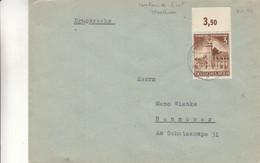 Allemagne - Empire - Lettre De 1942 - Imprimé - Oblit Montenau - Cantons De L'Est De Belgique - Exp Vers Hannover - Covers & Documents