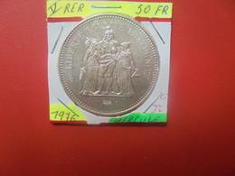 FRANCE 50 Francs 1976 ARGENT (A.4) - M. 50 Francs