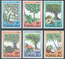 TOKELAU - MNH/** - 1985  - TREES AND FRUITS - Yv 118-123 -  Lot 23442 - Tokelau