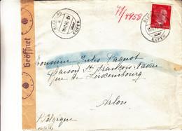 Allemagne - Empire - Lettre De 1943 ° - Oblit Bleiberg - Cantons De L'Est De Belgique - Avec Censure - - Brieven En Documenten