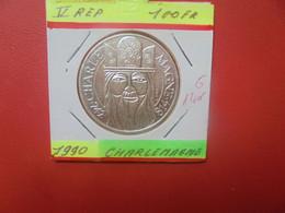 FRANCE 100 Francs 1990 ARGENT QUALITE FDC (A.4) - N. 100 Francs