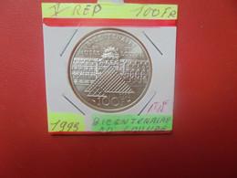 FRANCE 100 Francs 1993 ARGENT QUALITE FDC (A.4) - N. 100 Francs