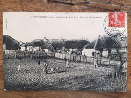 SAINT-NABORD -Collection M.Noël-Une Vue De Chaumières- Cachet De Saint Nabord - Altri Comuni