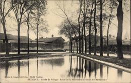 CPA Bétheny Marne, Entree Du Village, Route De La Neuvillette, Route De L'Aerodrome - Otros Municipios
