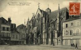 Troyes  Eglise Saint Urbain Monument Historique (XIII Siècle)  10 Aube. France Frankrijk Francia - Troyes