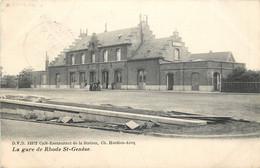 Belgique - Rhode St-Genèse - La Gare - Edit. D.V.D. N° 13372 - Rhode-St-Genèse - St-Genesius-Rode