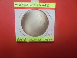 FRANCE 1 Franc 2001 QUALITE FDC (A.4) - Gedenkmünzen