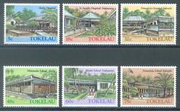 TOKELAU - MNH/** - 1986  - MONUMENTS - Yv 130-135 -  Lot 23444 - Tokelau