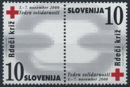 Slovenia 2000 - Red Cross - MNH Michel Z22-Z23 (value 2 EUR) - Slovenia