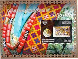 ORNAMENTS OF BHUTAN- MS-LIMITED ISSUE-BHUTAN-MNH-ABHTS-61 - Bhutan