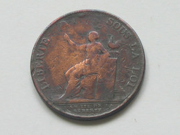 MONNERON -Liberté Sous La Loi - Médaille De Confiance - Frères Négociants à Paris 1791 **** EN ACHAT IMMEDIAT **** - 1789-1795 Franz. Revolution