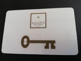 HOTEL KEY  AMARA /WING RESORT    (OLDER CARD)      MAGSTRIPE    ** 5539 ** - Hotel Keycards