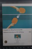 Für Den Sport 1985; Ersttagsblatt Der Sporthilfe; Berlin; Tischtennis - Volleyball
