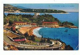 MONACO - Le Beach, Timbre Et Cachet - 986 - Bars & Restaurants