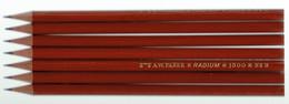 Lot De 6 Crayons De Papier (noir) A.W. FABER Radium 1300 N°3 État Neuf, Jamais Utilisés - Sonstige