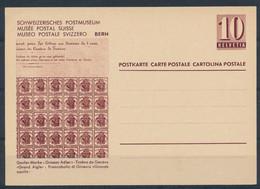 HELVETIA - C.P. - MUSÉE POSTAL SUISSE - (ref. 53) - Entiers Postaux