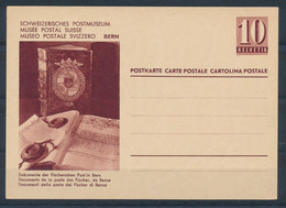 HELVETIA - C.P. - MUSÉE POSTAL SUISSE - (ref. 54) - Entiers Postaux