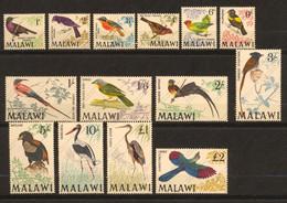 Malawi, Yvert 92/105**, Scott 95/109**, SG 310/323**, MNH - Malawi (1964-...)