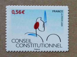 A1-M2 : Cinquantenaire Du Conseil Constitutionnel Type II Et Jean Moulin à Caluire  (autoadhésifs / Autocollants) - Luchtpost