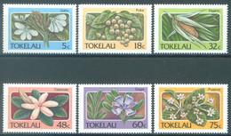 TOKELAU - MNH/** - 1987  - FLOWERS - Yv 143-148 -  Lot 23446 - Tokelau