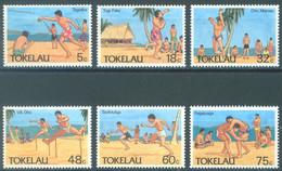 TOKELAU - MNH/** - 1987  - BEACH SPORTS - Yv 149-154 -  Lot 23447 - Tokelau