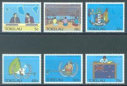 TOKELAU - MNH/** - 1988  - POLITIC - Yv 160-165 -  Lot 23448 - Tokelau