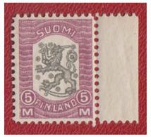 FINLANDE -- SUOMI-1918- FACIT N°74 -- 5 Mark** Bord De Feuille -- - Gebraucht