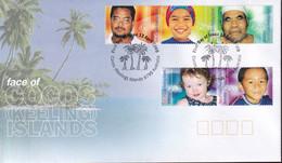 Cocos Keeling Islands 2000 Faces Of Cocos Sc 332 FDC - Cocos (Keeling) Islands