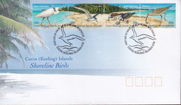 Cocos (Keeling) Islands 2003 Shore Birds Sc 337 FDC - Cocos (Keeling) Islands