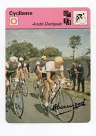 CYCLISME   TOUR DE FRANCE  AUTOGRAPHE   ANDRE DARRIGADE - Cycling