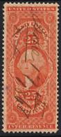 1868 USA  - Label Vignette Revenue Tax SEAL George Washington - Vari