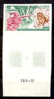 Senegal, 1972, Daudet, Writer, Author, Literature, Lion, Hunting, MNH Imperforated, Michel 491 - Senegal (1960-...)