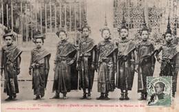 CPA  CAMBODGE---PNOM-PENH---GROUPE DE DANSEUSES DE LA MAISON DU ROI - Cambodia