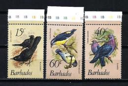 Barbados Nº 545/7 Nuevo - Barbados (1966-...)
