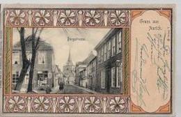 07 04/ U V//   1900   GRUSS AUS AURICH    BURGSTRASSE - Non Classificati