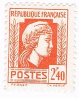 France, N° 641 - Série D'Alger - Type Marianne - 1944 Coq Et Marianne D'Alger