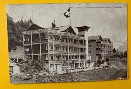 15054 - Leysin Clinique Militaire Suisse L'Abeille - VD Vaud