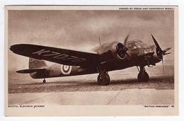 """""""BRITAIN PREPARED"""" 40 - Bristol Blenheim Bomber - War 1939-45"""
