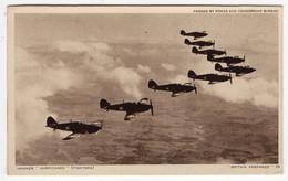 """BRITAIN PREPARED"" 25 - Hawker ""Hurricanes"" (Fighters) - War 1939-45"