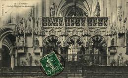 Troyes Jubé De L'Eglise Ste Madeleine  10Aube France Frankrijk Francia - Troyes